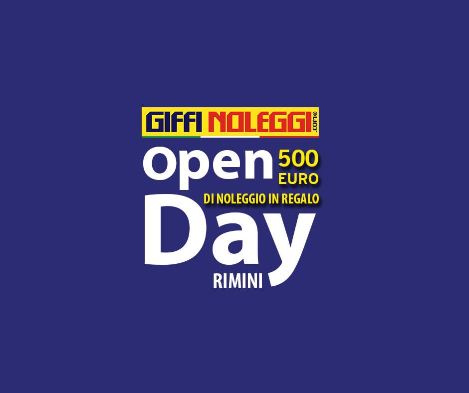 Open Day della nuova sede di Rimini di Giffi Noleggi
