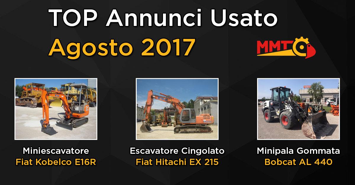 TOP Annunci - Agosto 2017