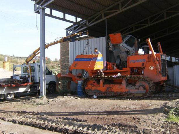 L'assistenza tecnica su macchine da lavoro a Roma e nel Lazio si chiama Bonanni
