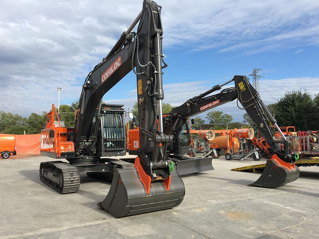 Cofiloc acquista 3 escavatori cingolati Volvo