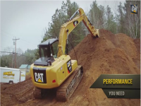 Video Caterpillar: anteprima CAT 313F L GC
