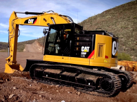 Video: escavatore Caterpillar 335F L CR