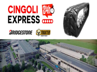 Cingoli Express, l'e-commerce dei cingoli in gomma
