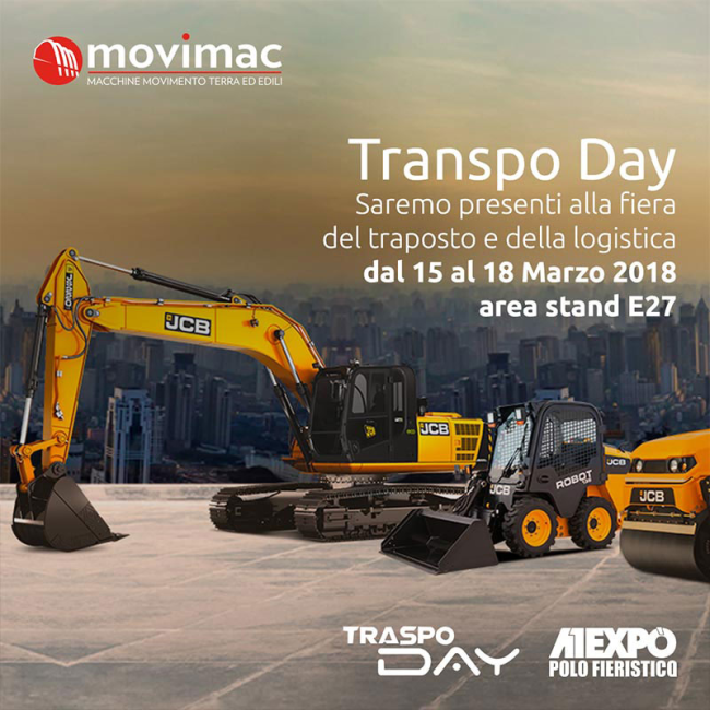 Questo weekend al Transpo-day con Movimac