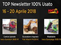 TOP Newsletter 100% Usato - 16 - 20 Aprile 2018