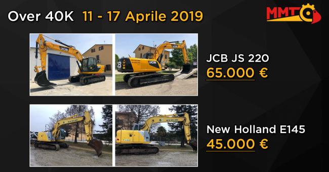 Over 40k usato 11 - 17 Aprile 2019