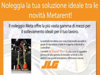 METARENT: noleggiare con Meta Srl