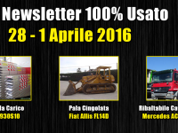TOP Newsletter 100% Usato - 28 - 1 Aprile 2016