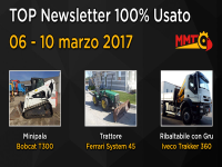 TOP Newsletter 100% Usato - 06 - 10 marzo 2017