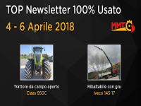 TOP Newsletter 100% Usato - 04 - 06 Aprile 2018