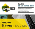 Appuntamento con RMC a Intermat Paris