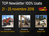 TOP Newsletter 100% Usato - 21- 25 novembre 2016