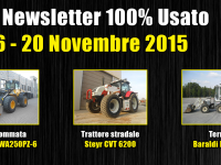 TOP Newsletter 100% Usato - 16- 20 Novembre 2015