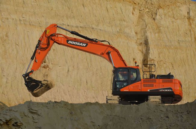 Il Doosan DX300LC-5 vince il Lowest Cost of Ownership A.