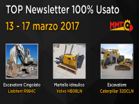 TOP Newsletter 100% Usato - 13 - 17 marzo 2017