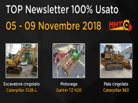 TOP Newsletter 100% Usato - 05 - 09 Novembre 2018