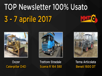 TOP Newsletter 100% Usato - 3 - 7 aprile 2017