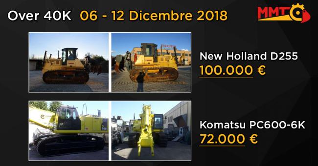 Over 40k usato 06 - 12 Dicembre 2018