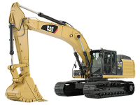 L'escavatore Cat 336E H arriva in Italia
