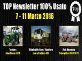 TOP Newsletter 100% Usato - 7 - 11 Marzo 2016