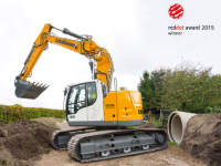 L'escavatore Liebherr R 926 premiato con il Red Dot Award Design 2015