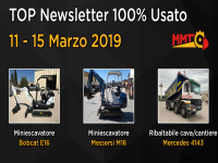 TOP Newsletter 100% Usato -11 - 15 Marzo 2019