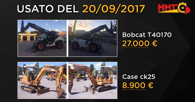 Usato del giorno - 20 Settembre 2017