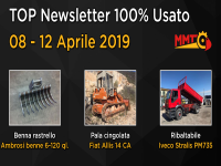 TOP Newsletter 100% Usato - 08 - 12 Aprile 2019