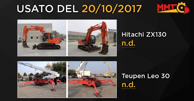 Usato del giorno - 20 Ottobre 2017