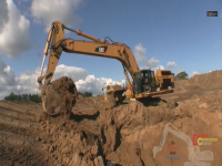 Video: Cat 365 LME, Cat D6T e Hydrema 922 in azione