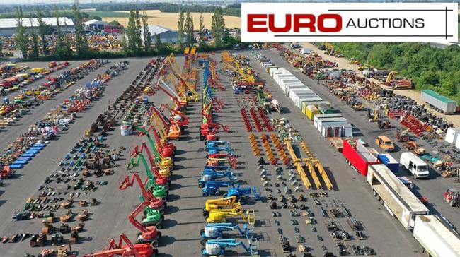 Asta Euro Auctions a Dormagen di ottobre, ecco com'è a.