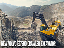 Video Volvo CE: l'escavatore cingolato EC750D