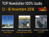 TOP Newsletter 100% Usato - 12 - 16 Novembre 2018