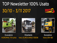 TOP Newsletter 100% Usato -  30/10 - 03/11 2017