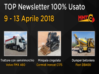 TOP Newsletter 100% Usato - 09 - 13 Aprile 2018