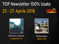 TOP Newsletter 100% Usato - 23 - 27 Aprile 2018