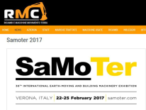 Ricambi MMT: RMC a Samoter 2017