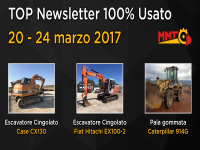 TOP Newsletter 100% Usato - 20 - 24 marzo 2017