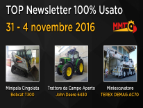 TOP Newsletter 100% Usato - 31- 4 novembre 2016