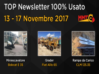 TOP Newsletter 100% Usato -  13 - 17 Novembre 2017