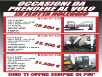 L'usato Bobcat in superofferta da DMO