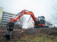 Kubota fa l'upgrade dell'escavatore KX080-4