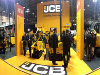 JCB all'Executive Hire Show UK