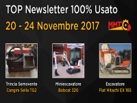 TOP Newsletter 100% Usato - 20 - 24 Novembre 2017