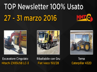 TOP Newsletter 100% Usato - 27 - 31 marzo 2017