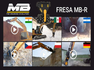 Video-tour mondiale delle frese MB Crusher