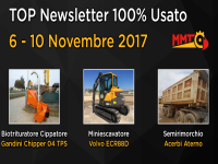 TOP Newsletter 100% Usato -  6 - 10 Novembre 2017