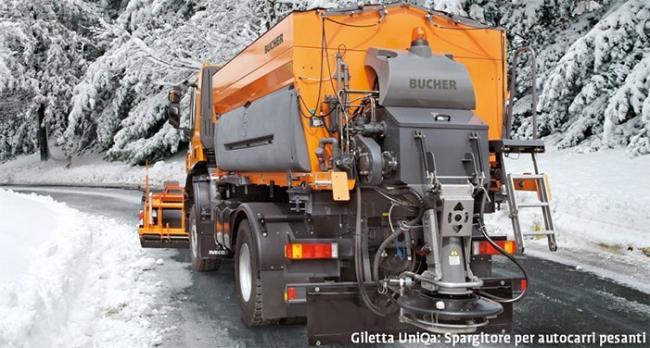 Attrezzature invernali: Bucher a Samoter 2017