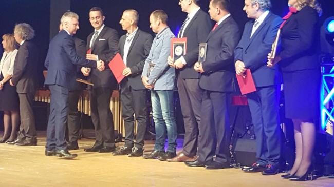MB Crusher premio per l'innovazione all'Autostrada Pols.