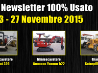 TOP Newsletter 100% Usato - 23- 27 Novembre 2015